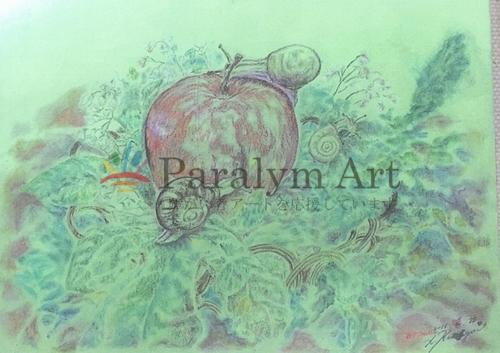 リンゴと花と蝸牛